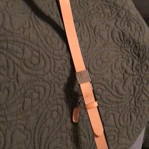 Coach belt small it is genuine leather